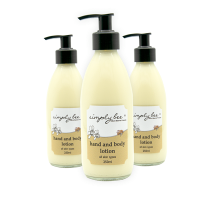 Simply Bee Hand & Body Lotion - 250 ml Glass 1