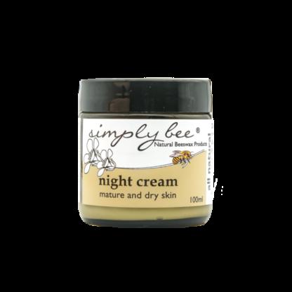 Face night cream image