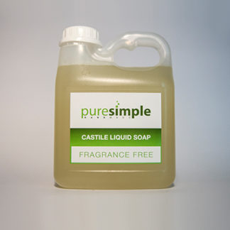 Castile Liquid Soap Fragrance Free