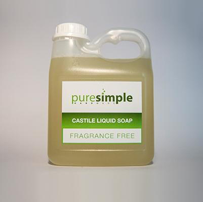 Castile Liquid Soap Fragrance Free