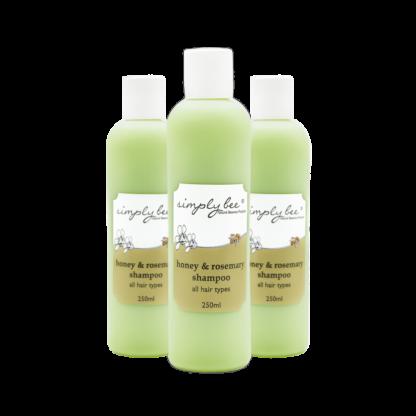 Simply Bee Honey & Rosemary Shampoo 250ml 1