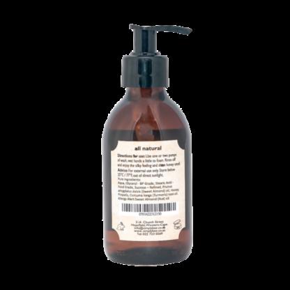 Simply Bee Hand & Body Wash with Fynbos Honey 200 ml Glass LTD Edition 1