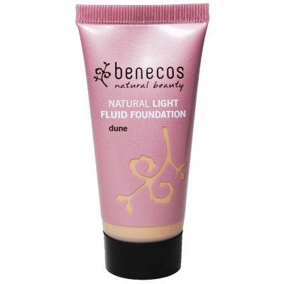 benecos natural light fluid foundation dune