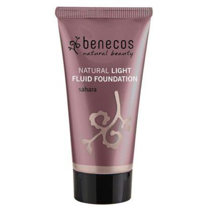 benecos natural light fluid foundation sahara