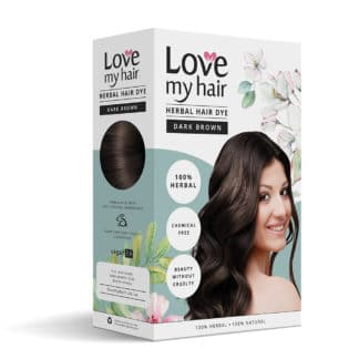 Herbal Hair Dye dark brown image