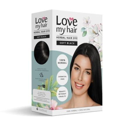 Herbal Hair Dye soft black image