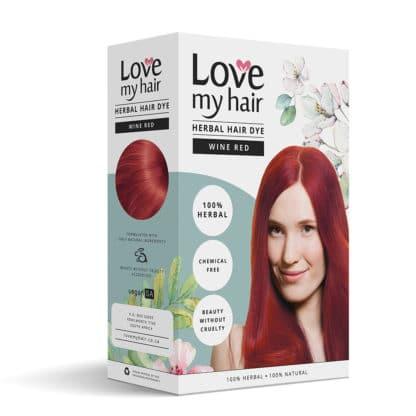 herbal hair dye image