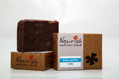 Nourish Natural Soap - Baby and Me image