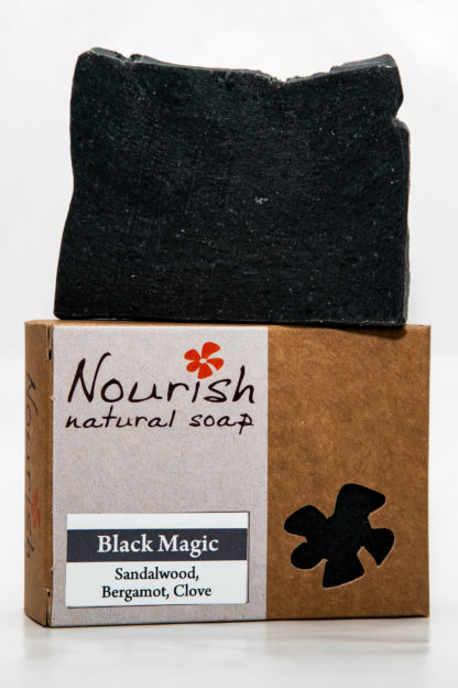 Nourish Natural Soap - Black magic image