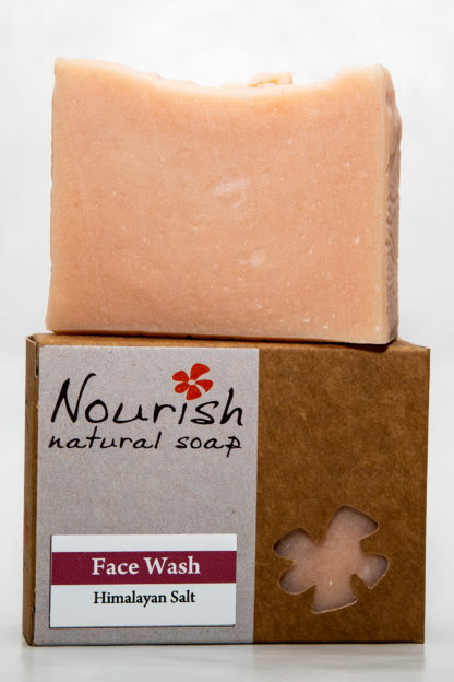 Nourish natural soap - face wash image