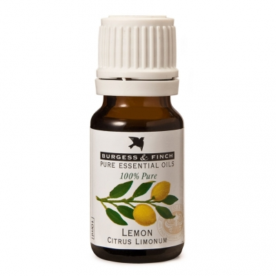 Burgess and Finch Lemon essential oil