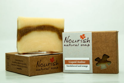 Nourish Natural Soap- Liquid Amber image