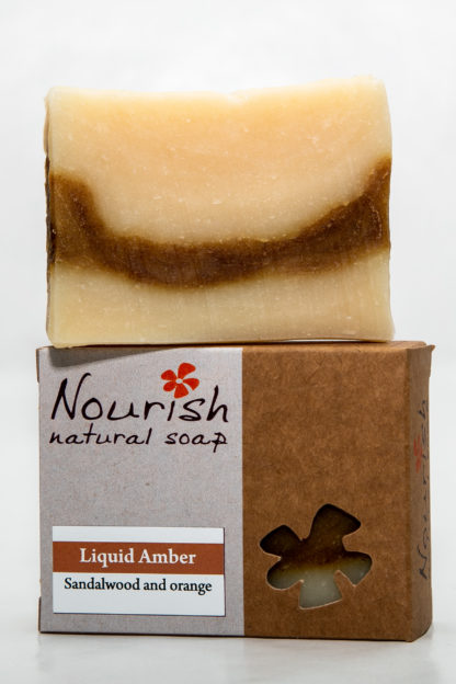 Nourish Natural Soap - Liquid Amber 1