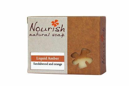 Nourish NaturalSoap - Liquid Amber