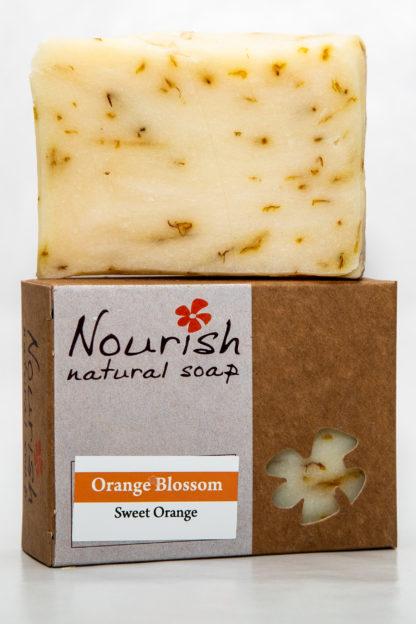 Nourish Natural Soap - orange blossom image