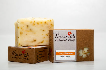 Nourish Natural Soap - Orange Blossom 1