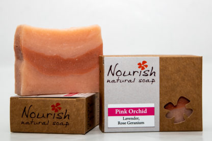 Nourish Natural Soap - Pink Orchid