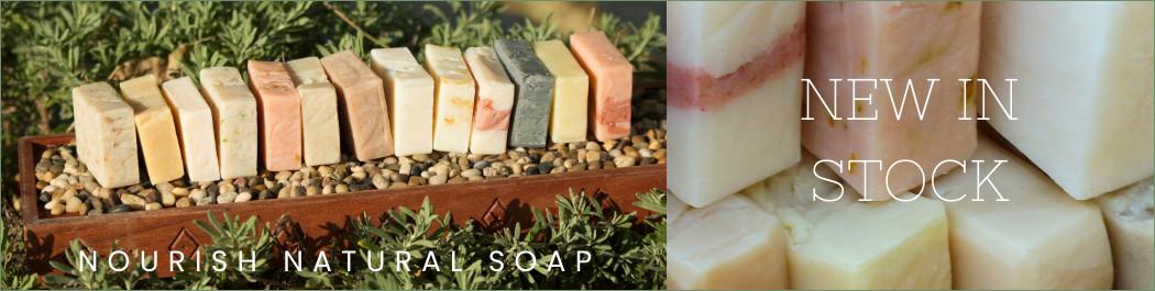 banner nourish natural soap