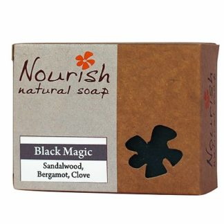 Nourish natural soap - black magic