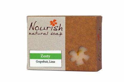 nourish natural soap - zesty