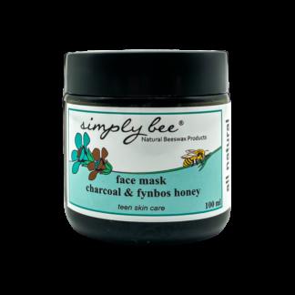 simply bee teen skin care charcoal & honey mask
