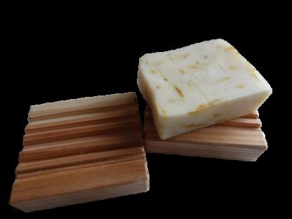 Cedar Wood Soap Dish 1