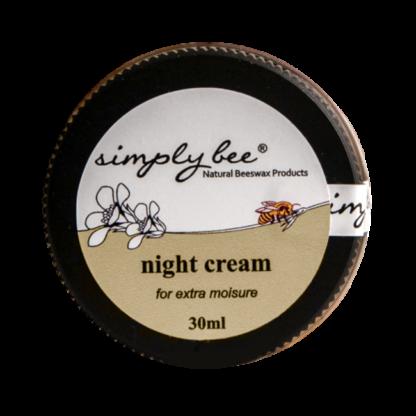 simply bee night cream 30ml