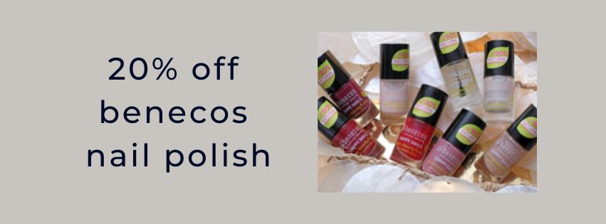 benecos nail polish discount only natural